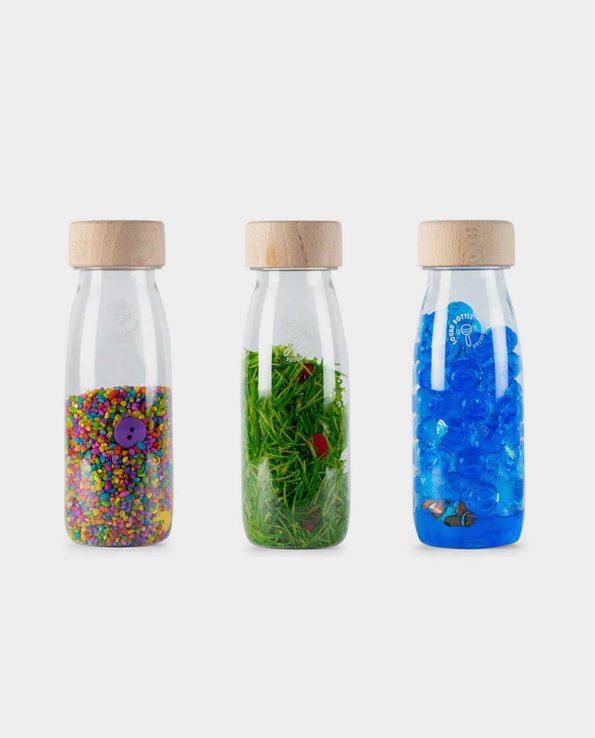 pack de botellas sensoriales Petit Boum Pack Eco