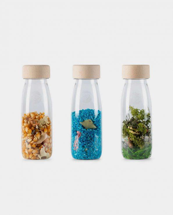pack de botellas sensoriales Petit Boum Pack Nature