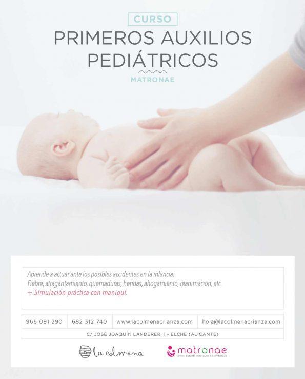 Curso Primeros auxilios pediátricos en alicante y elche