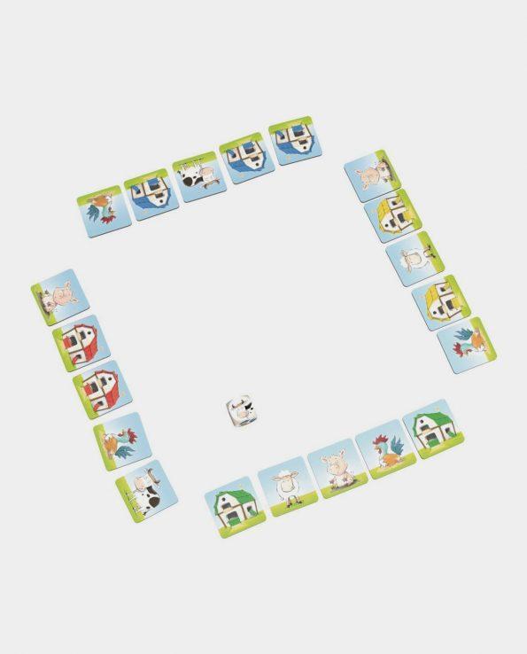 Juego de mesa para niños Una granja loca de la marca Haba
