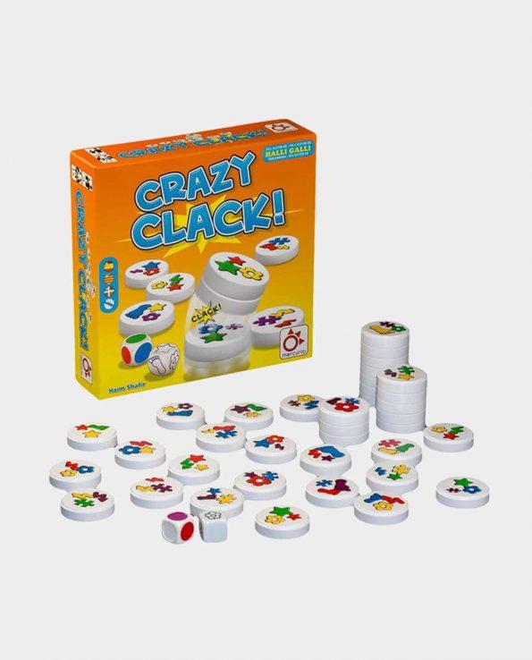 Juego de mesa para niños Crazy Clack