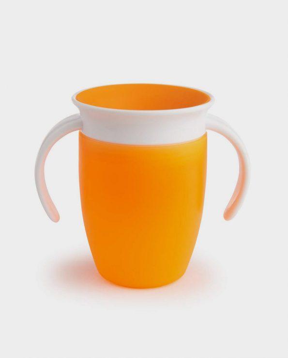Taza vaso antiderrames para bebes y niño sin tóxicos de Munchkin 360 con asas 207ml