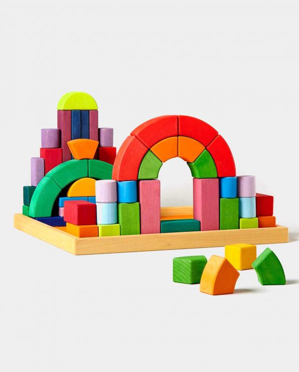 62 piezas de construcción Romanesque Grimms