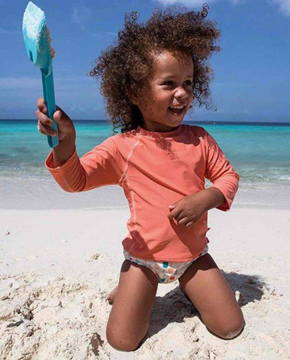Bañador para bebes y niños con protección 50 absorvente Lassig