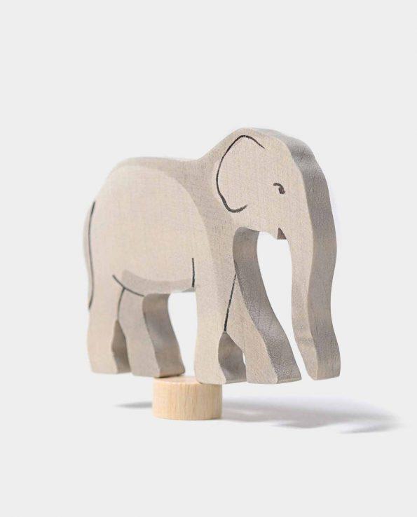Figura decorativa de madera con forma de elefante de la marca Grimm's