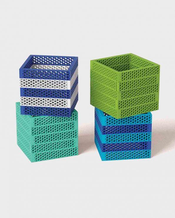 Set de construcción para niños Hello Box Ocean Mix de BioBlo