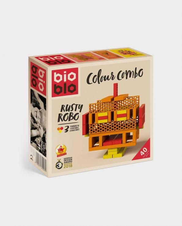 Rusty Robo de BioBlo juego de construccion con ladrillos de panal