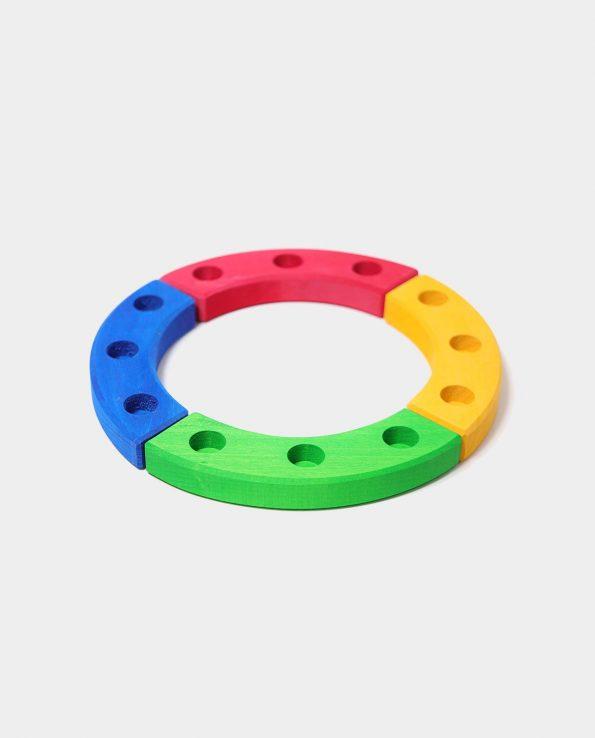 Small birthday ring color de Grimm's. Circulo pequeño de cumpleaños de Grimms
