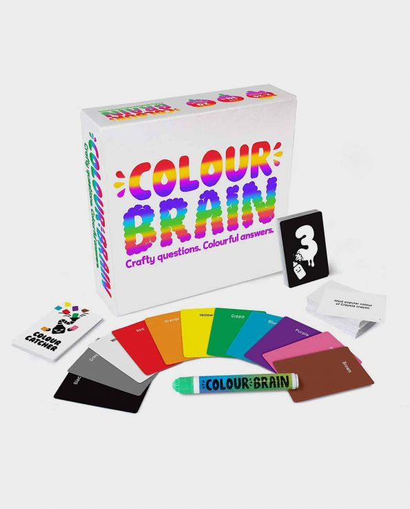 Juego de mesa de cartas Colour Brain