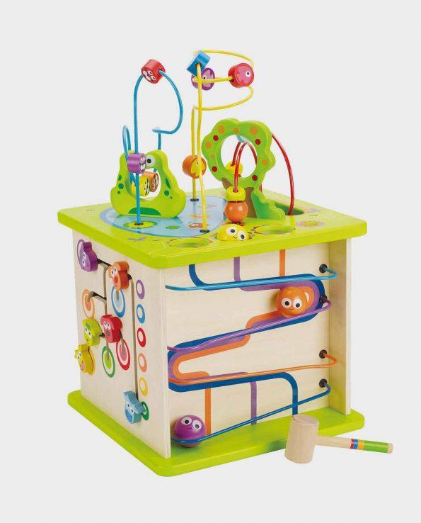 Cubo laberinto infantil para niños y bebes de hape