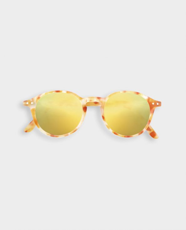 Gafas de Sol IZIPIZI Junior Yellow Tortoise Mirror #D