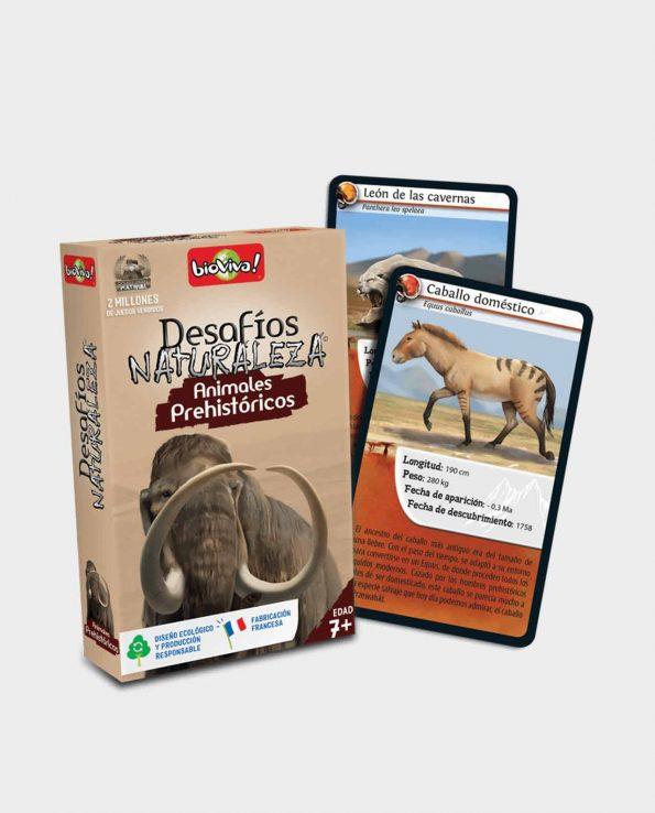 Juego de cartas para niños Bioviva Edición Animales Prehistóricos