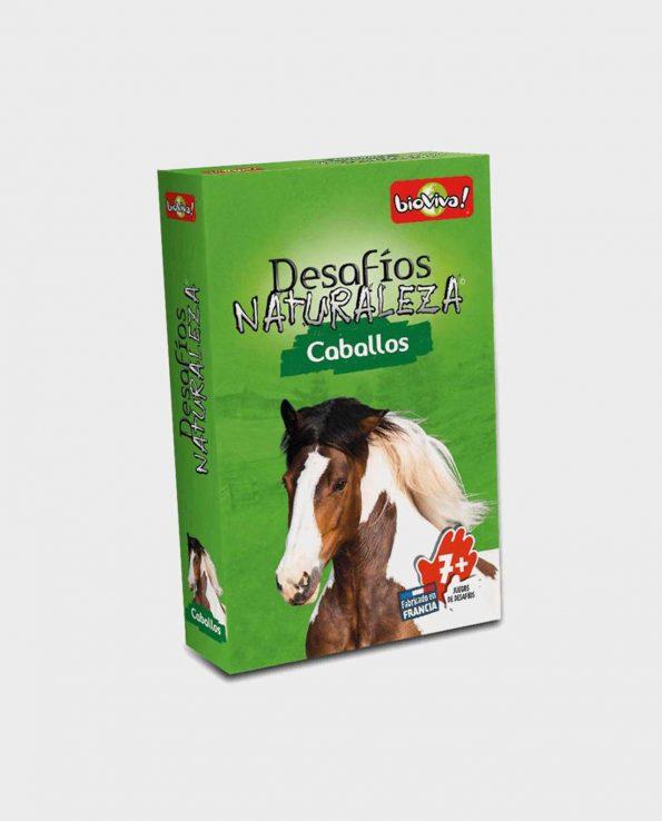 Juego de cartas para niños Bioviva Edición Caballos