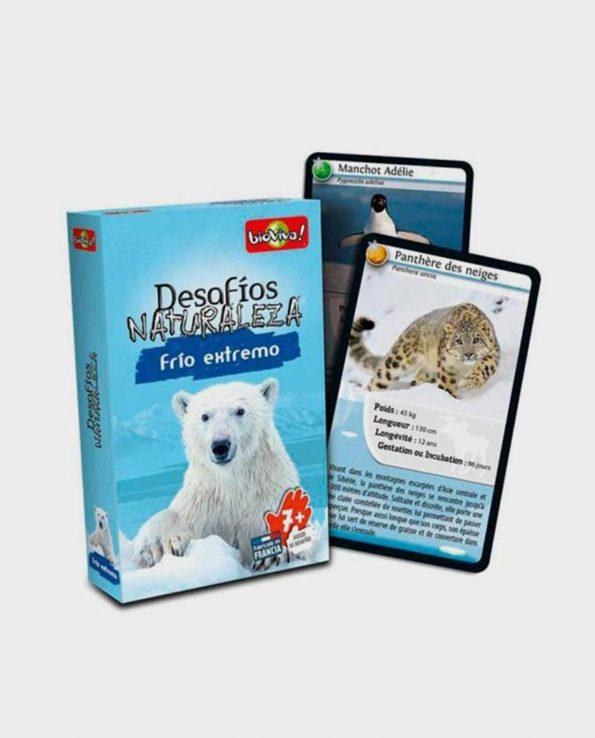 Juego de cartas para niños Bioviva Edición Frío Extremo