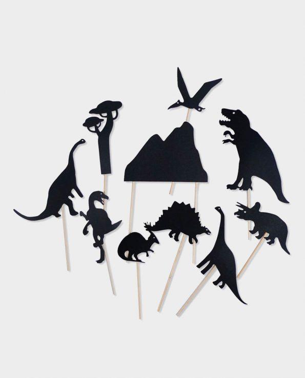 Juego de sombras para niños de Moulin Roty modelo Dinosaurios