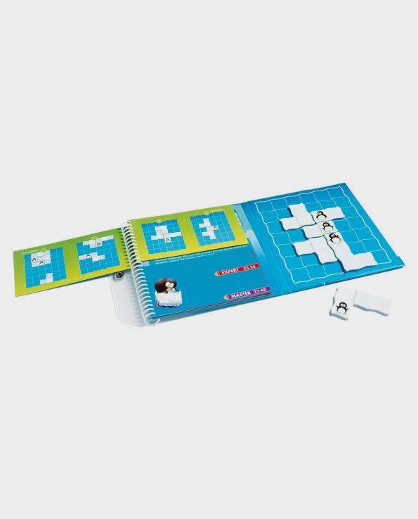 Juego de mesa Penguis Parade. Puzzle para niños y niñas
