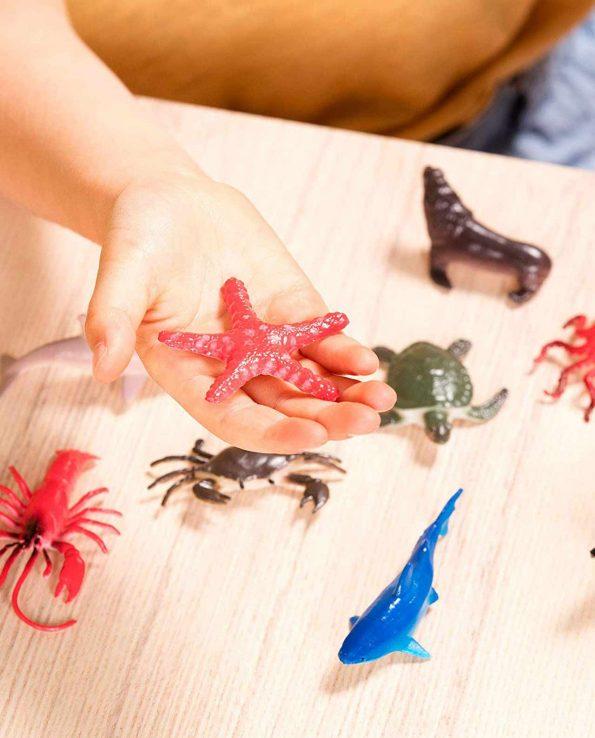Bote de animales realistas de juguete Terra Animales Marinos