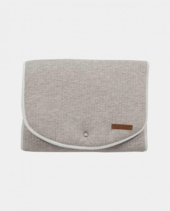 Cambiador portatil sencillo minimalista bonito elegante Confort Gris LITTLE DUTCH