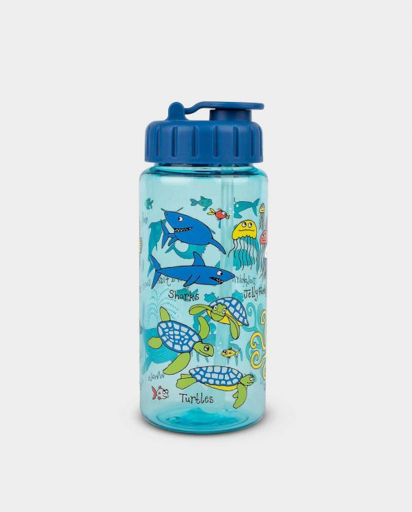 Botella 400 ml Under the Sea azul Tyrrell Katz