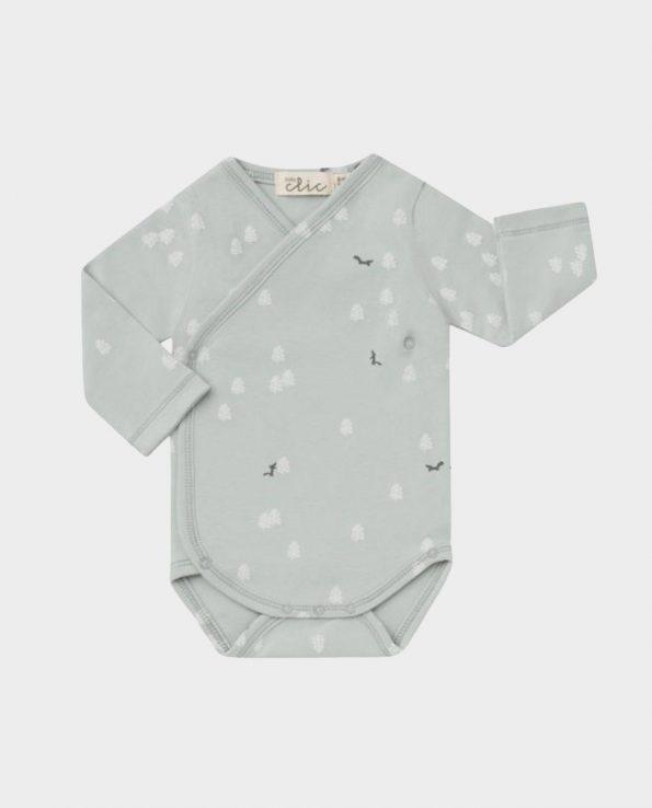 Body manga larga para bebé de algodón de Clic Mini