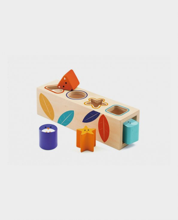 Boita Basic Djeco Cubo de formas de Djeco