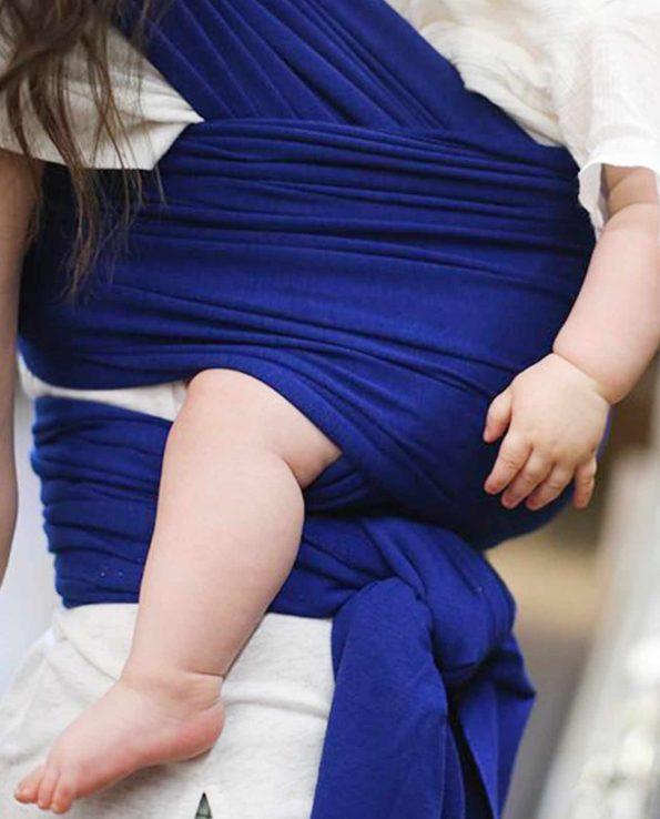 Fular elástico ergonómico de Boba Dark Blue Azul oscuro