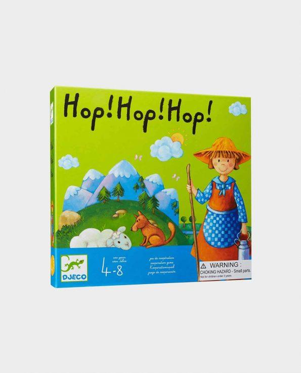 Juego de mesa para niños hop hop hop djeco