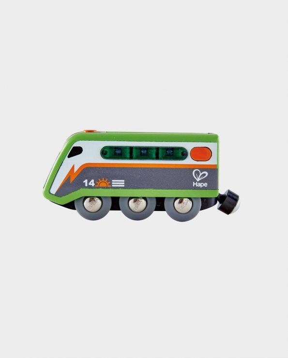 Locomotora solar de juguete para niños de Hape