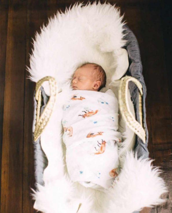 Muselina de algodón para bebes de Little Unicorn