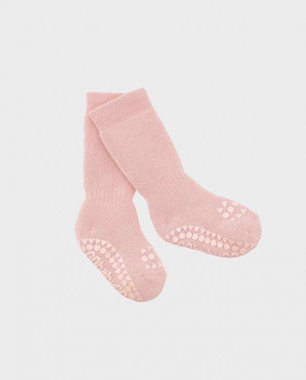 Calcetines antideslizantes para bebes de Tutete Go Baby Go Azul Cielo