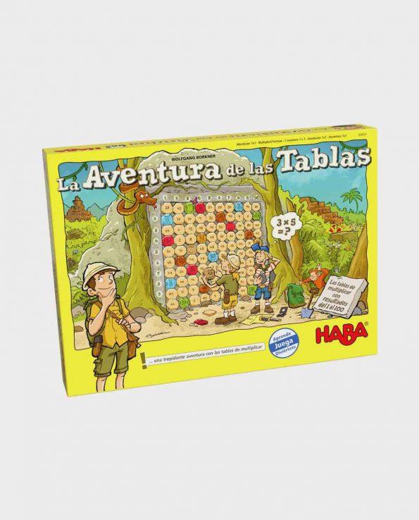 Juego de mesa para niños La aventura de las tablas de Haba