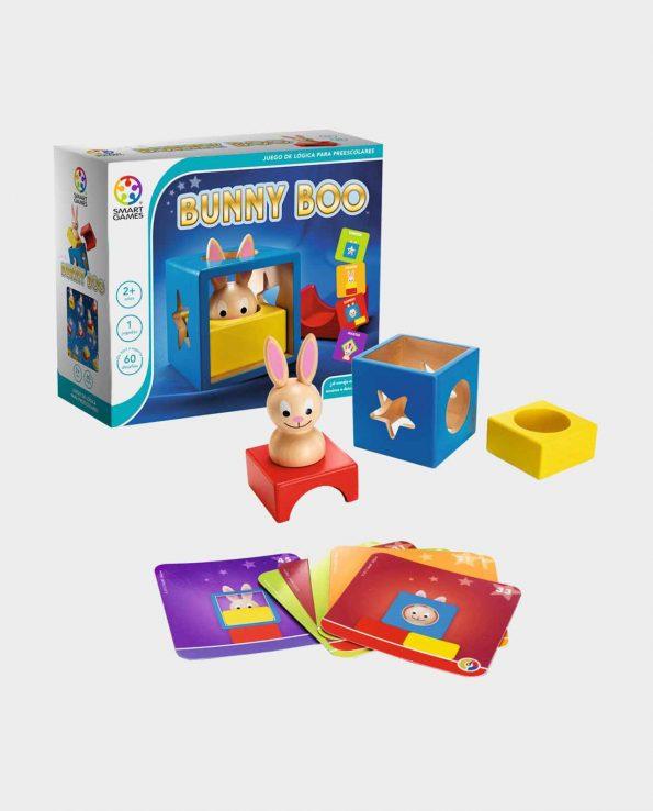 Juego de lógica y puzzle para niños Bunnie Boo