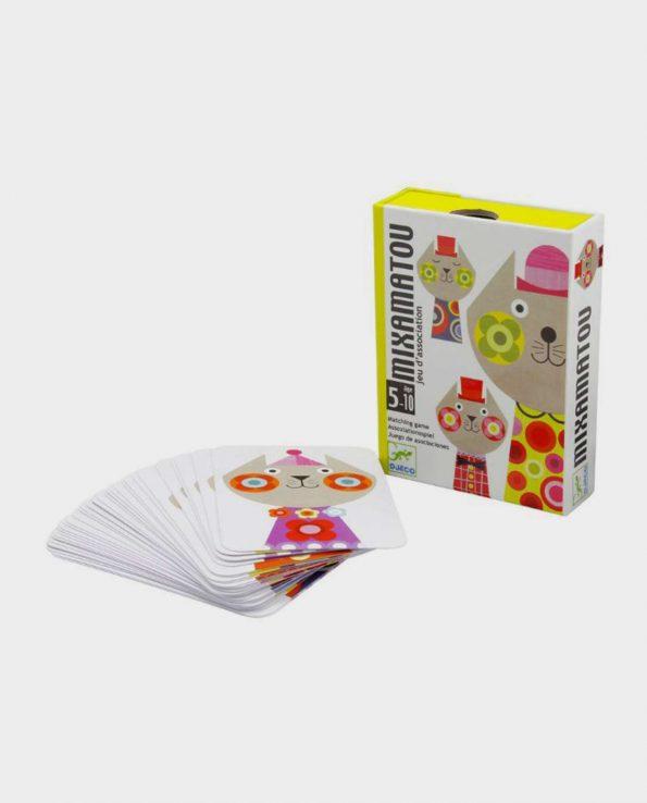 Juego de cartas para niños Mixamatou