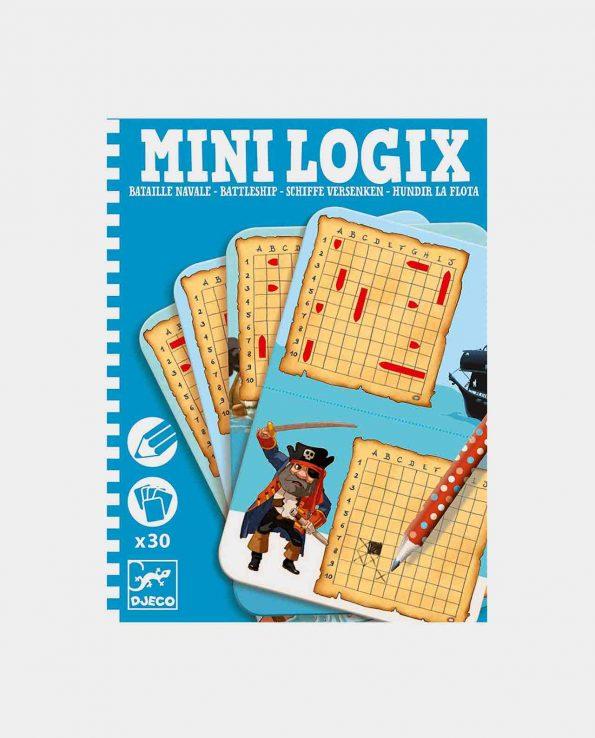 Mini juego Logix Hundir la flora de Djeco para niños