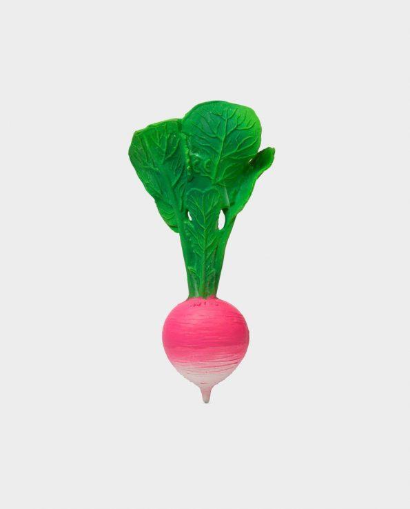 mordedor para bebes de fruta oli and carol ramona the radish rábano