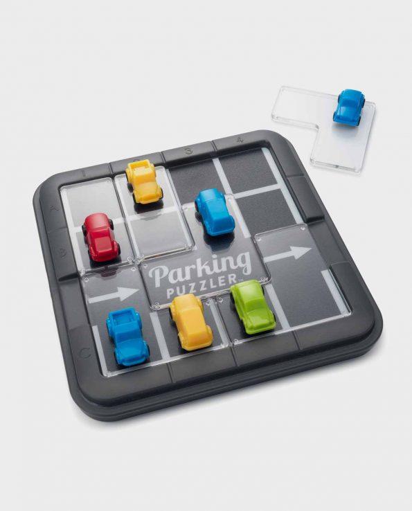 Juego de puzzle 3D y lógica para niños Parking Puzzle de Smart Games