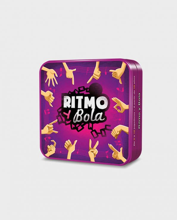 Juego de cartas de mesa para niños Ritmo y Bola