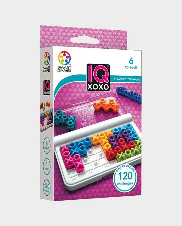 Juego de lógica para niños IQ Xoxo de Smart Games