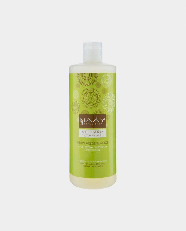 Gel de Baño Dermo-Regenerador NAAY 1L para niños ecológico sin tóxicos