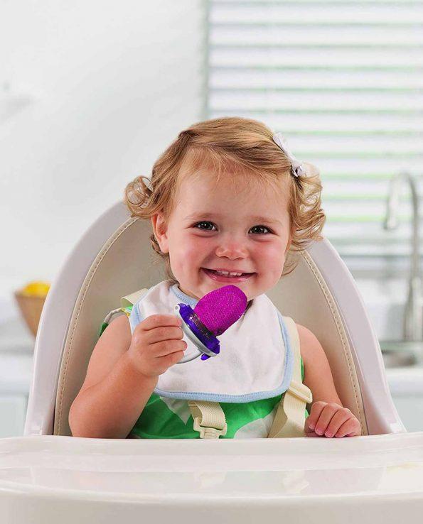 Alimentador delux con red para Baby Led Weaning de Munchkin