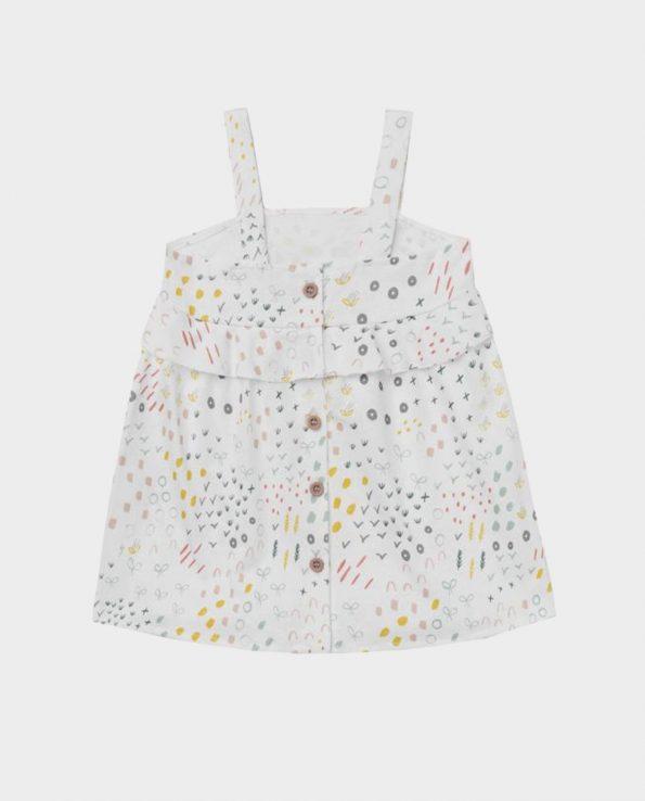 Vestido + Culotte de Baby Clic 100% algodón para niño