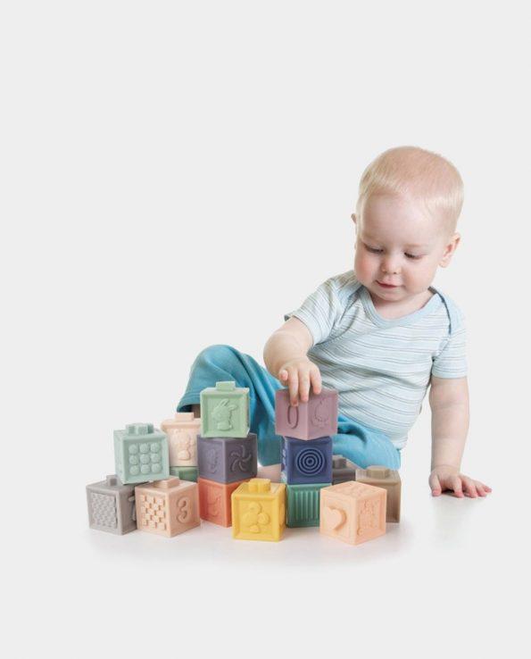 Juguete de Construcción Sensorial Blando Canpol Babies