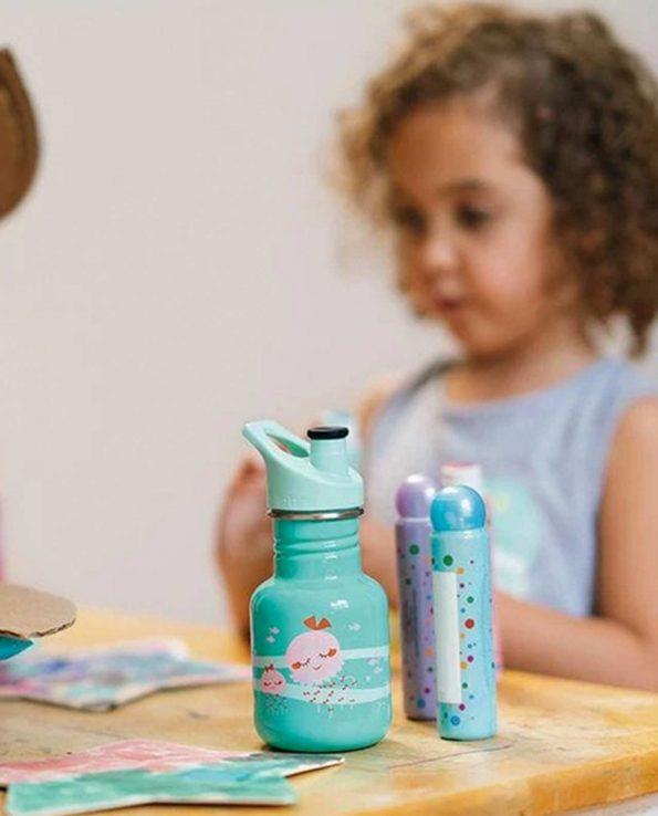 Botella para niño 355ml Jellyfish