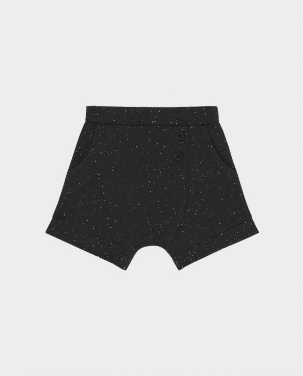 Short negros para niños de algodón 100% Clic Mini