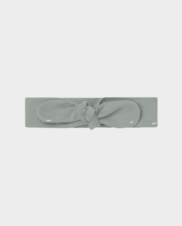 Turbante de bebé algodón 100% de Clic Mini verde