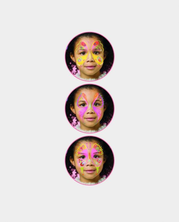 Set de maquillaje para niños sin tóxicos Djeco Mariposas