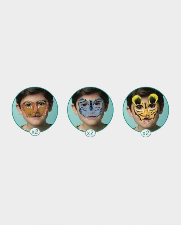 Set de maquillaje para niños sin tóxicos Djeco Tigre