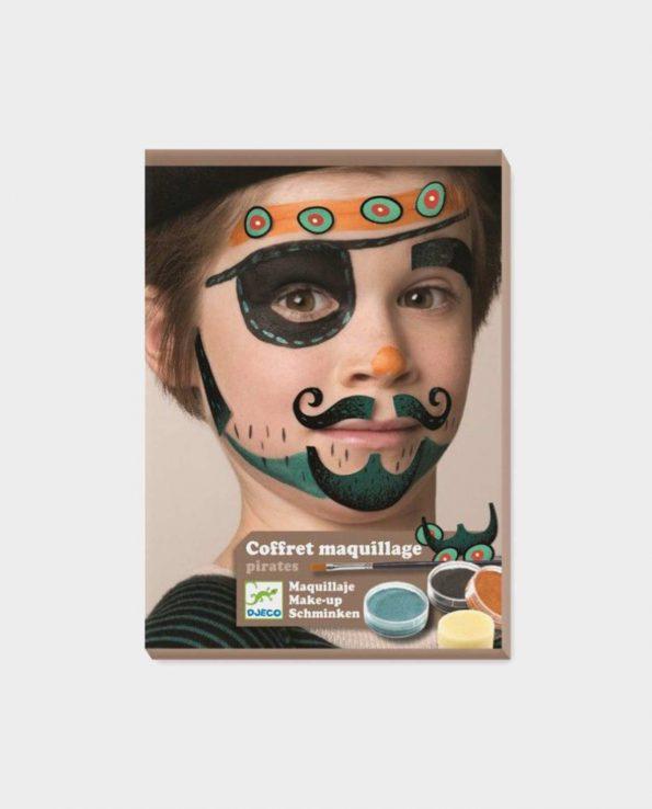 Set de maquillaje para niños sin tóxicos Djeco Piratas
