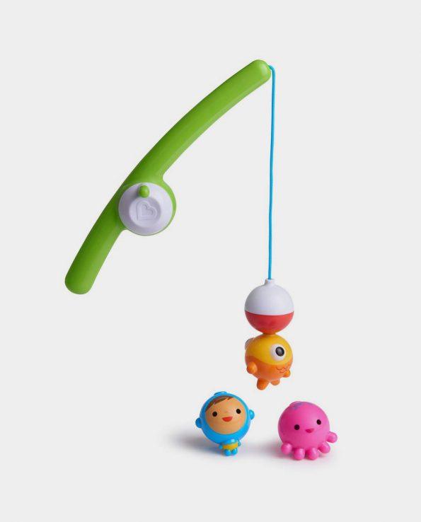 Juguete para el baño y bañera de pesca para bebes y niños Munchkin