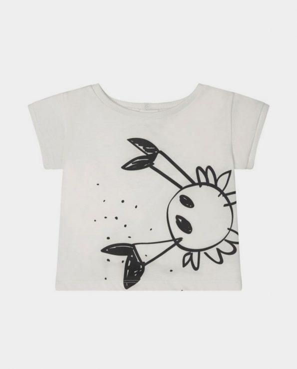 Camiseta para niños de algodón orgánico 100% modelo Sea Mats de Clic Mini